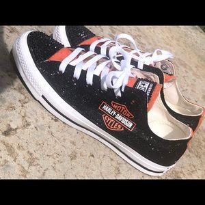 Converse Shoes | Custom Harley Davidson